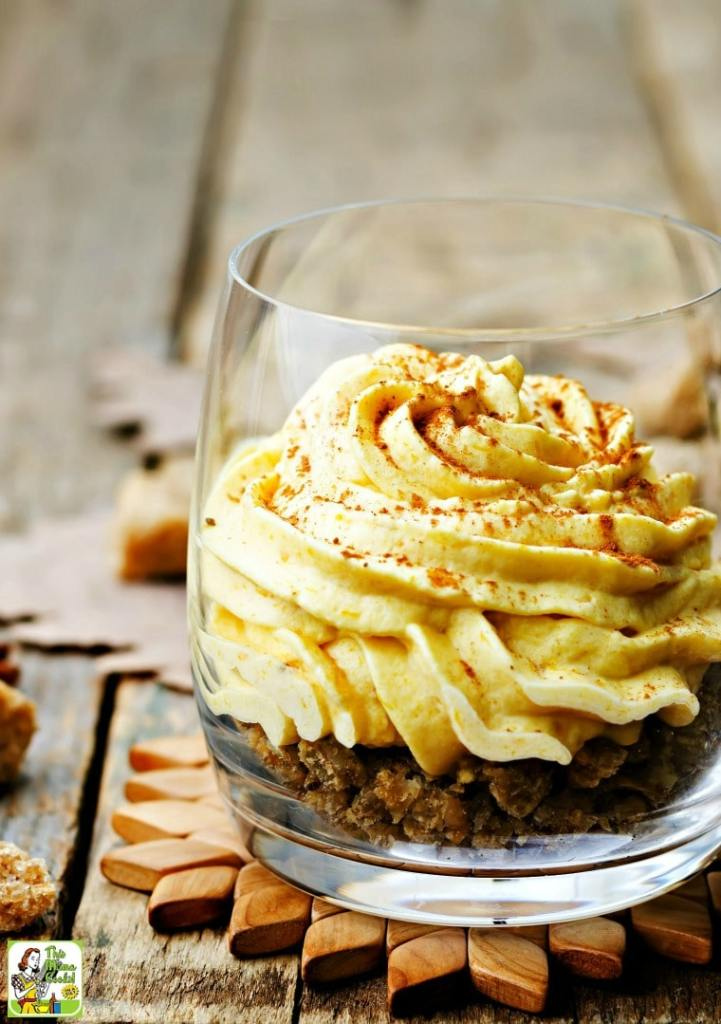 Weight Watchers Pumpkin Mousse @ This Mama Cooks