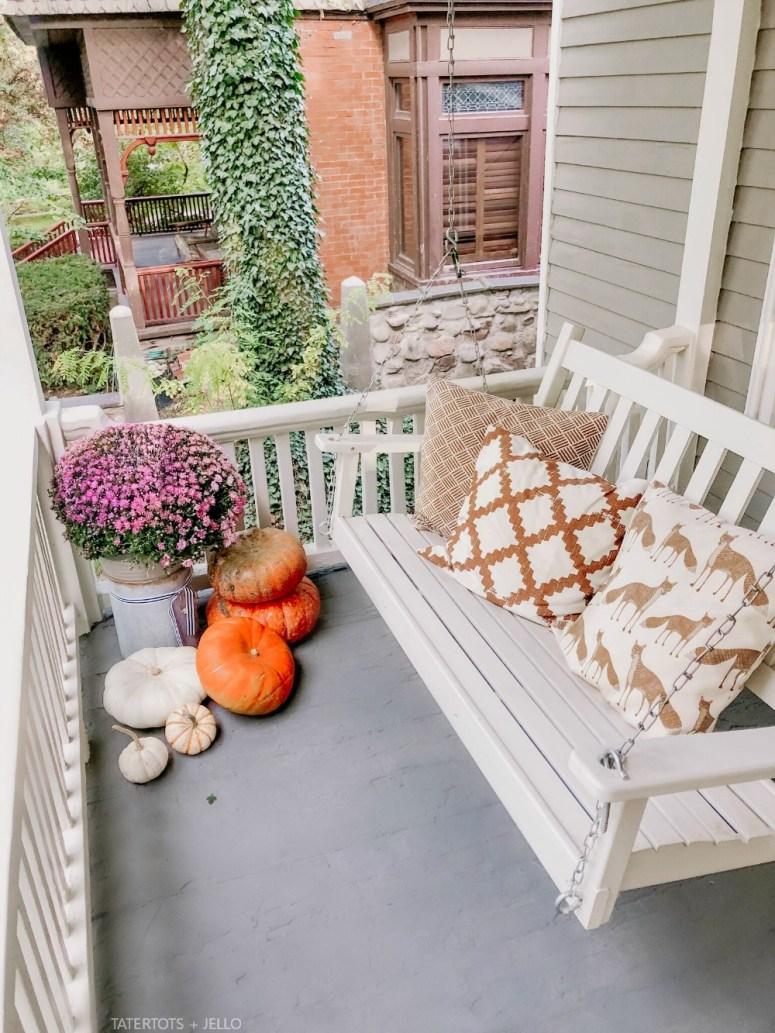 Fall Copper Pillows.