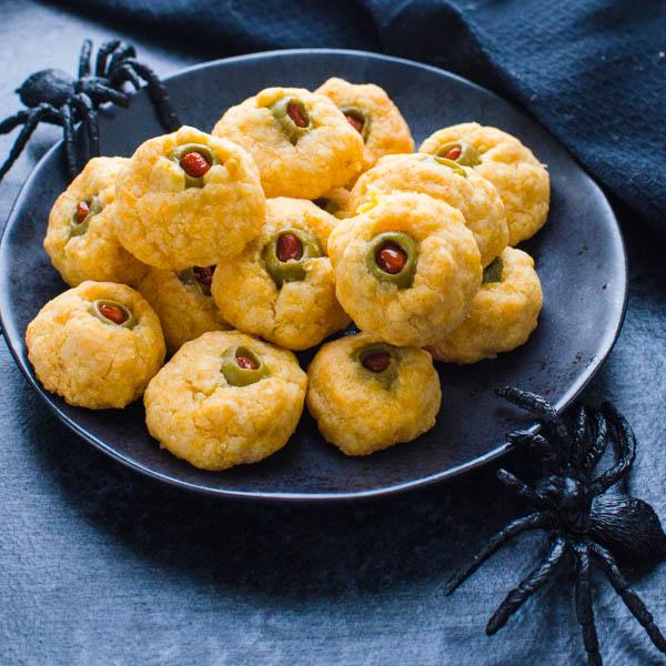 Cheese Olive Balls @ Garlic & Zest