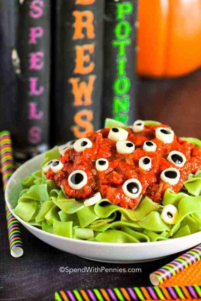 Eyeball Pasta @ Spend With Pennies