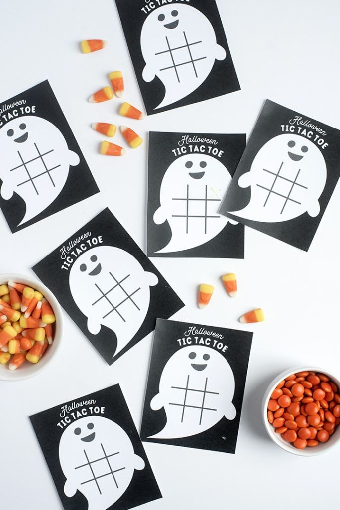Free Printable Halloween Tic Tac Toe Game @ Alice & Lois