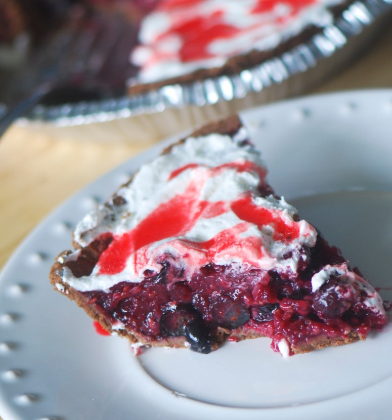 Weight Watchers Berry Pie @ Recipe Diairies