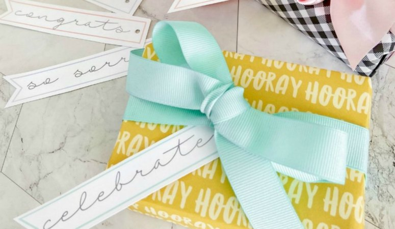 Simple All-Occasion Printable Gift Tags