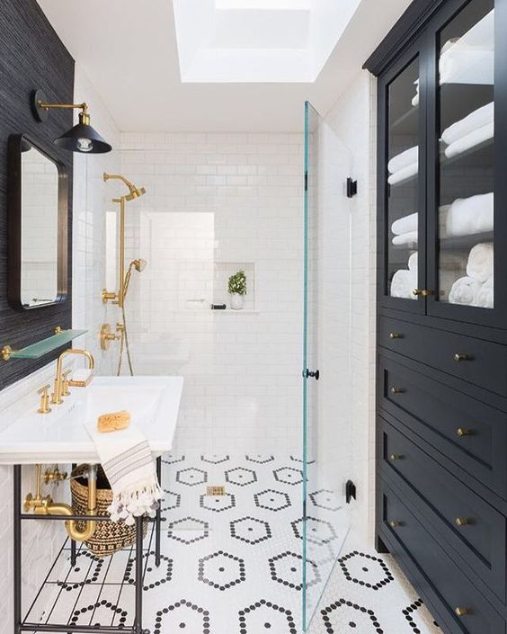 cottage bathroom tile ideas