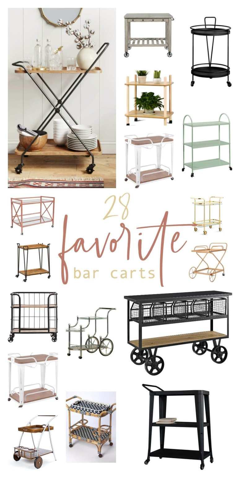 28 of my favorite bar carts.