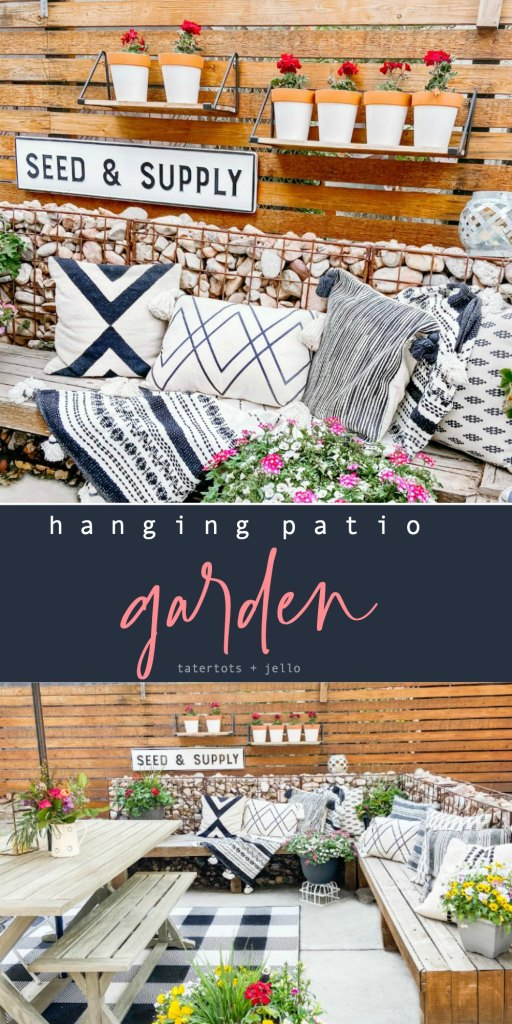DIY Hanging Patio Herb Garden