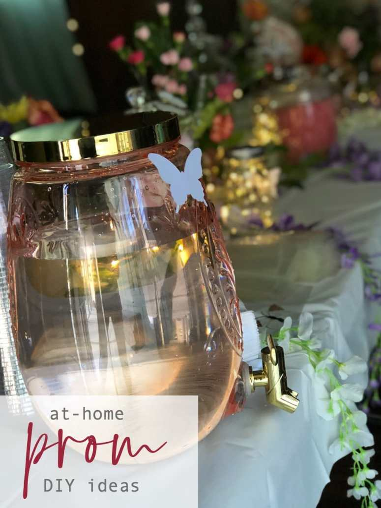 Take the stress out of decorating for prom with these 4 easy ideas! Order all of the items for prom and have them delivered to your home! Create a DIY photo backdrop, an easy candy bar plus lighting and more for the ultimate at-home prom!