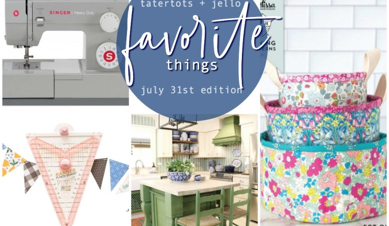 Favorite Things of the Week: My Favorite Craft Tools & More!