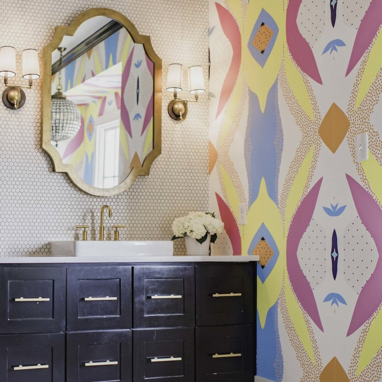 Joyous removable wallpaper at Katie Kime