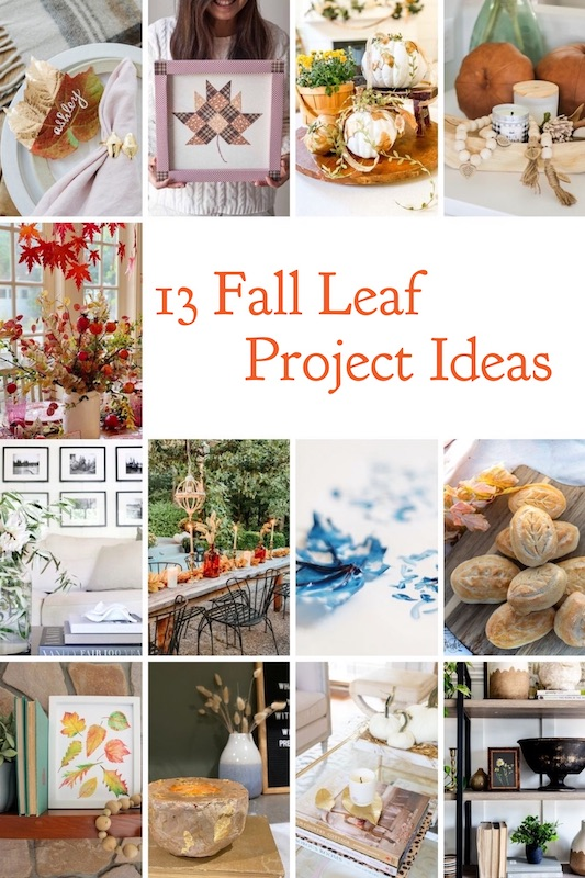 13 Fall Leaf Projects to Make!