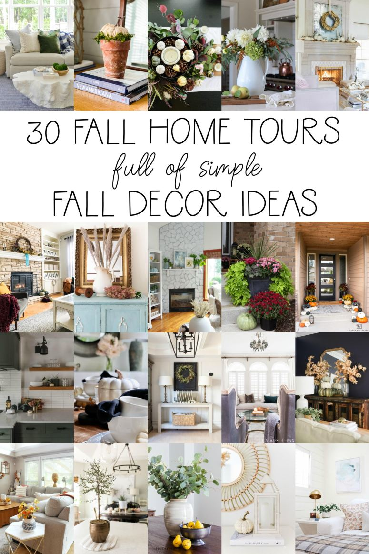 30 belles visites d'automne à la maison avec d'incroyables idées de bricolage