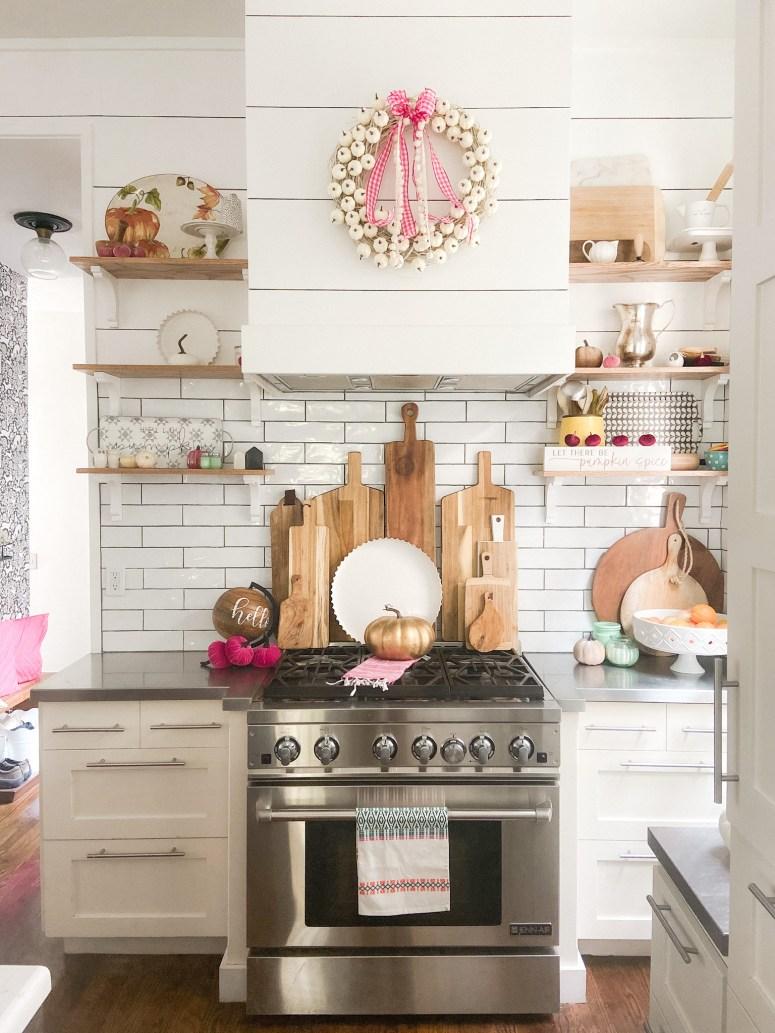 Décor de cuisine d'automne Boho Cottage
