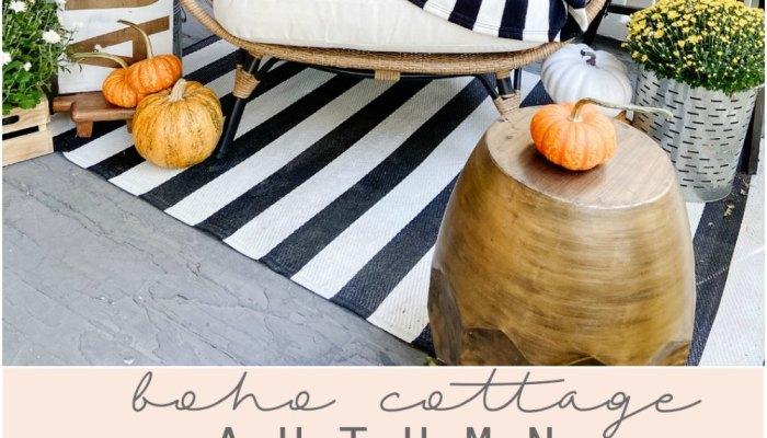 Boho Cottage Fall Porch Ideas