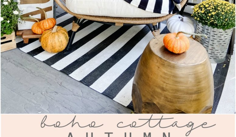 Boho Cottage Fall Porch Ideas