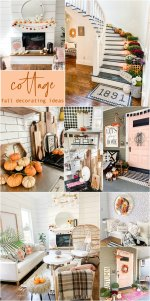 Boho Cottage Colorful Fall Home Tour
