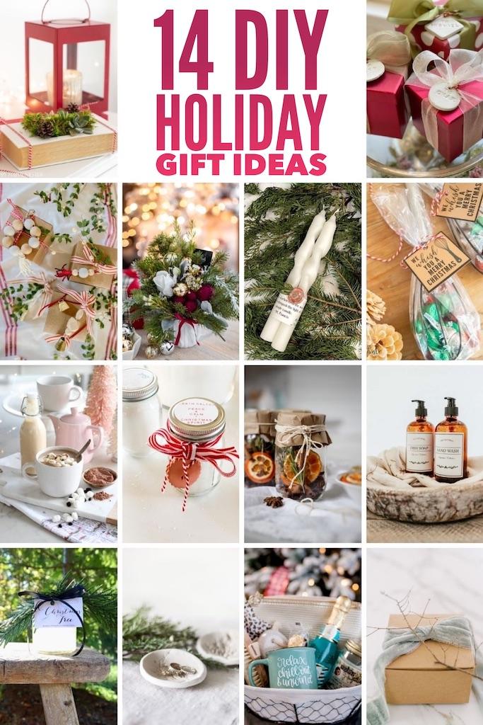 14 idées de cadeaux de vacances faites à la main