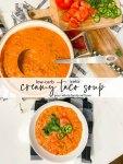 Recette de soupe de taco crémeuse à faible teneur en glucides