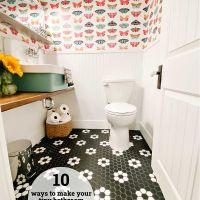 10 Ways to Make a Tiny Half Bath Seem Bigger