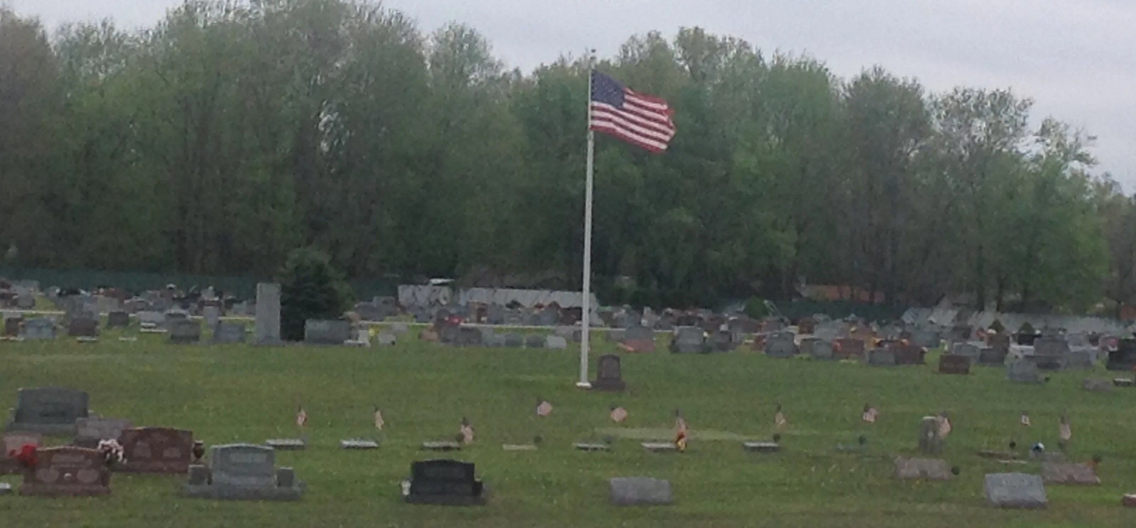 Veteran Section Tate Township Cemetery