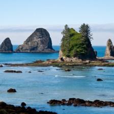 Some unnamed seastacks along the Washington Olympic Coast
