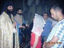 Մարիամի մկրտություն Տաթևի վանքում