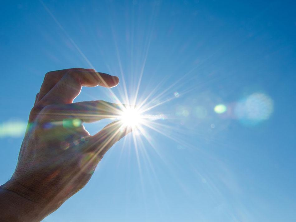 Sensibilidade à luz do sol