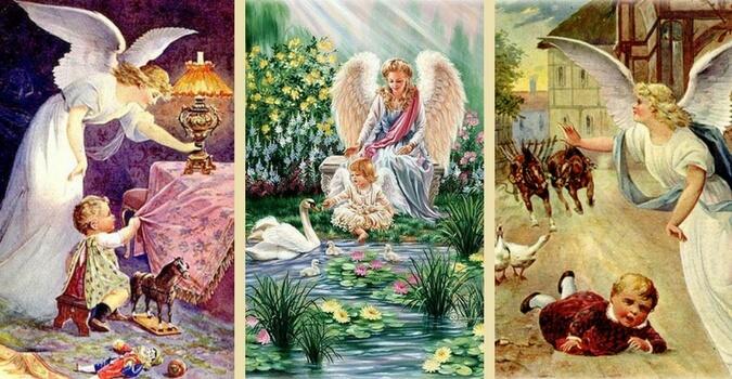Ангелы и дети
