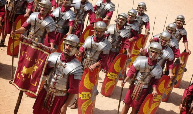 Отряд легионеров