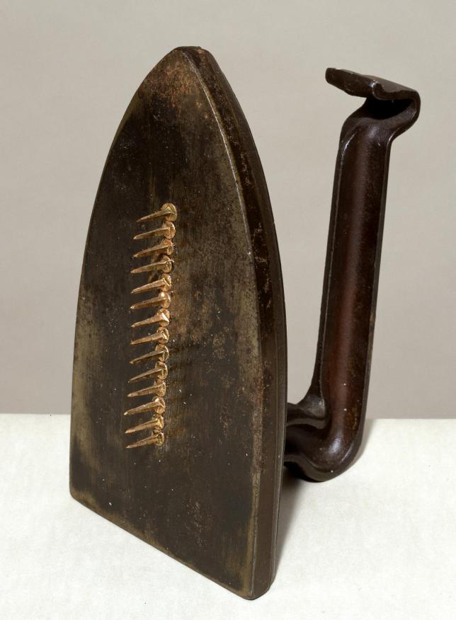 Cadeau 1921, editioned replica 1972 Man Ray 1890-1976 Presented by the Tate Collectors Forum 2002 http://www.tate.org.uk/art/work/T07883