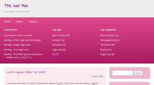 Seu blog agora mostra os cinco posts mais recentes, as cinco tags e as cinco categorias com mais posts.