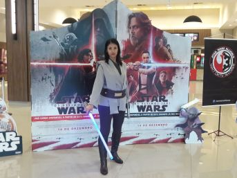 Cosplay Jedi