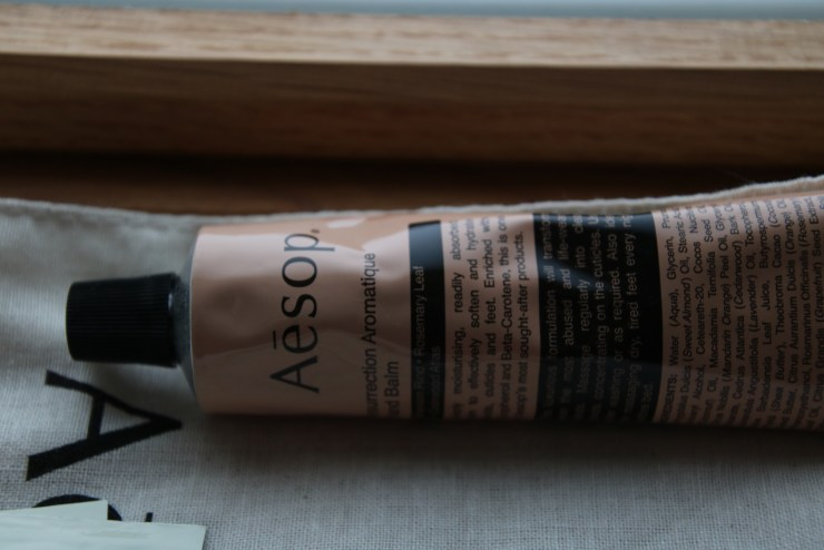 The tube contains 75ml of aromatic balm
