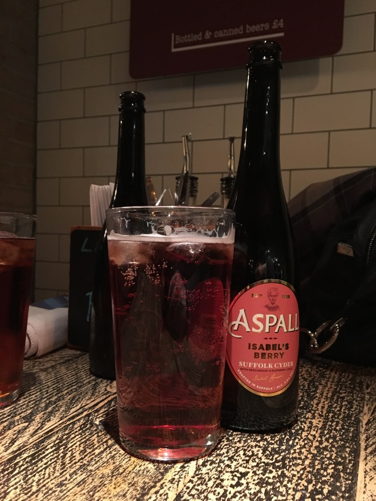 Aspall cider
