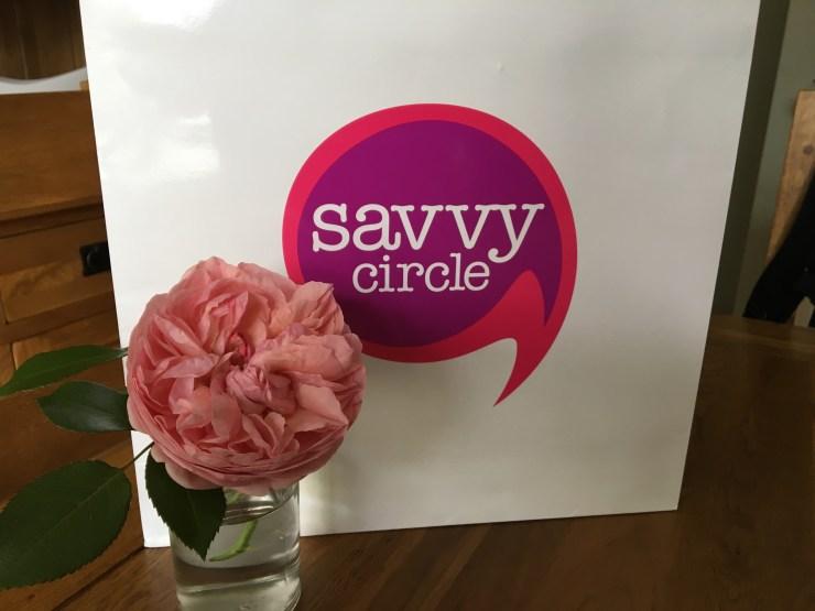goody bag from The Savvy Circle