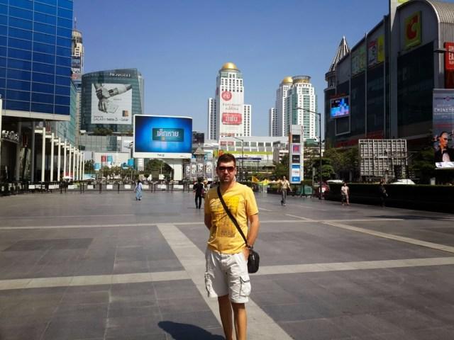 Bangkok alışveriş merkezleri