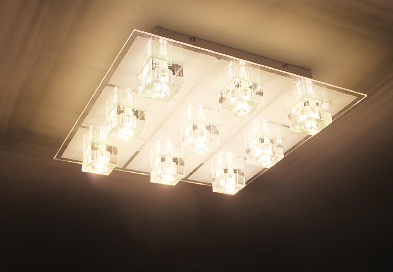Installations et raccordement luminaires, spot, led, éclairage, dalle LED, tube néon