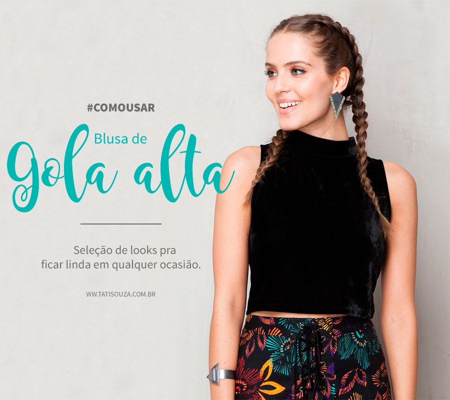 look cropped gola alta