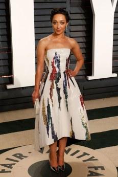 Ruth Negga in Oscar de La Renta