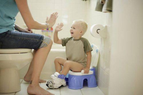Tuvalet alışkanlığı, Tuvalet Alışkanlığı, Tatlı Bir Telaş