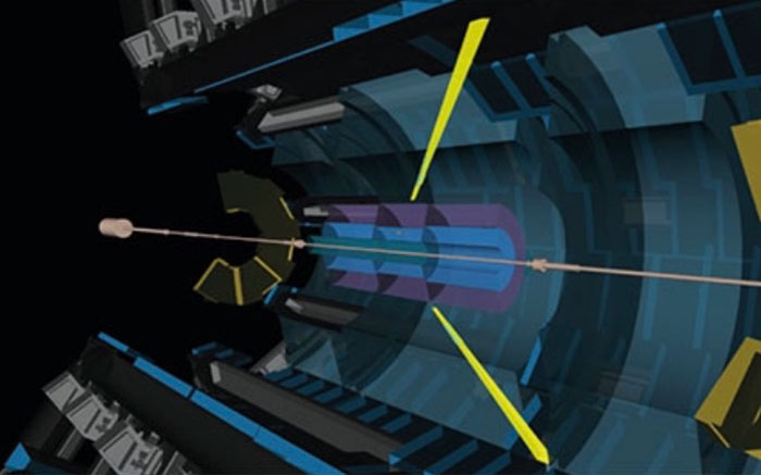 Light can scatter from light, CERN physicists confirm-Light is seen to scatter off light