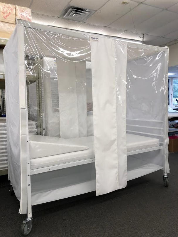 Jacksonville company creates isolation hospital bed to treat patients, protect healthcare workers
