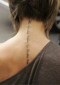 Les raisons pour se faire un tatouage dans la nuque – le côté esthétique