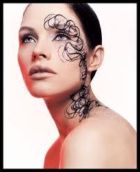 Le tatouage sur le visage