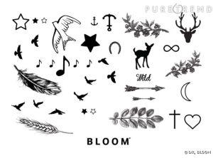 Bloom Tatouages pour des tatouages ultra tendances