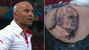 Un tatouage de Jorge Sampaoli
