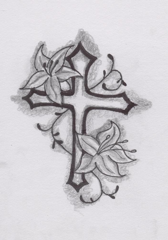 50+ Cross Tattoo Designs To Show Your Faith - Tats 'n' Rings