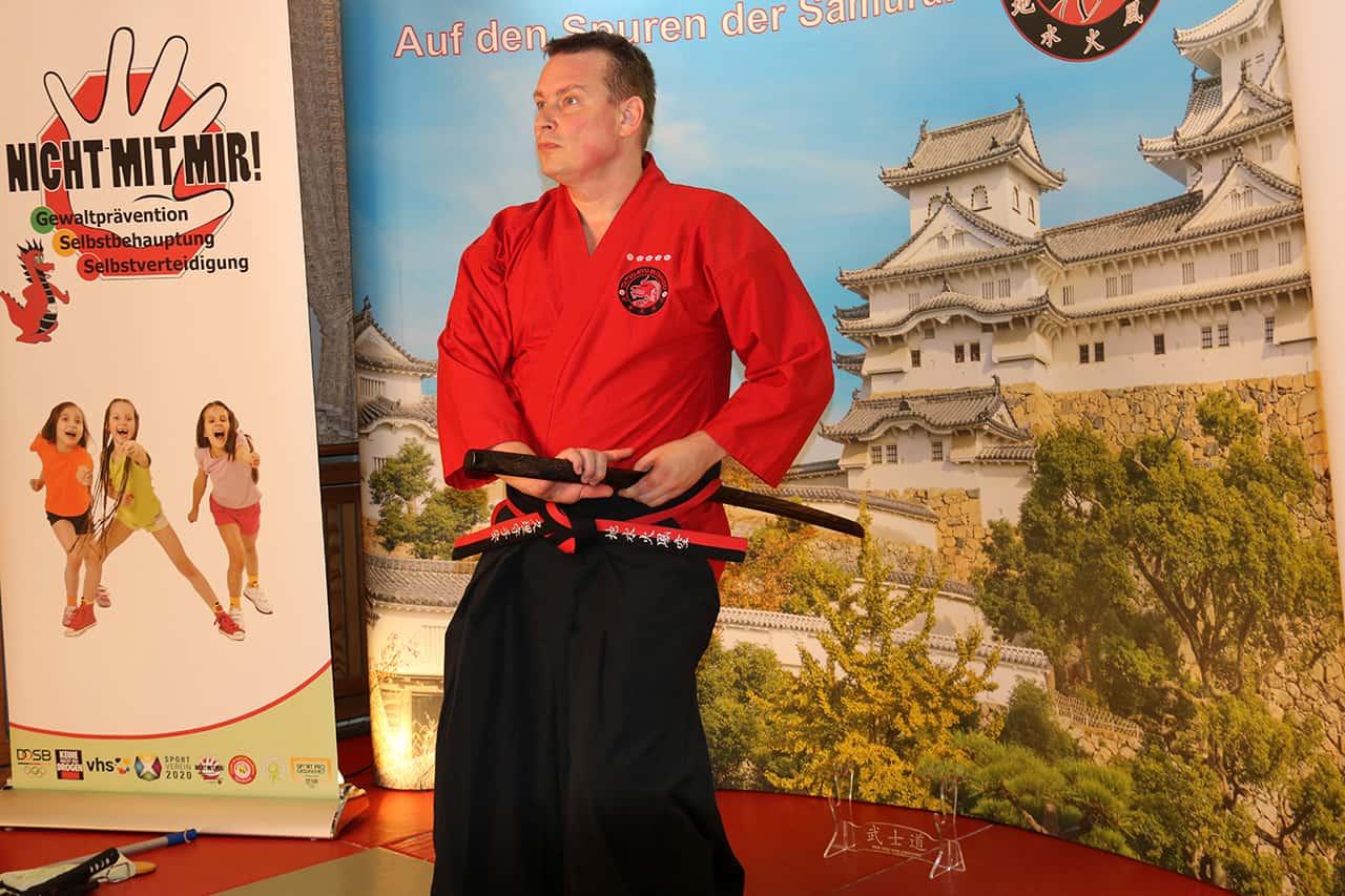Bokken Onlinetraining Saiko Shihan Christian Wiederanders