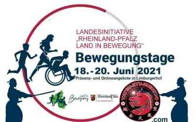Rheinland Pfälzische Bewegungstage vom 18.-20. Juni 2021 in Limburgerhof