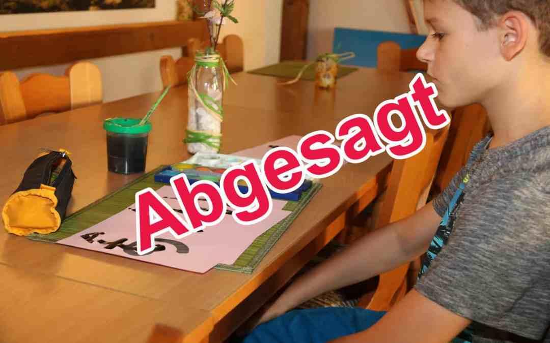 Sommerferienprogramm für Kinder in Limburgerhof abgesagt!