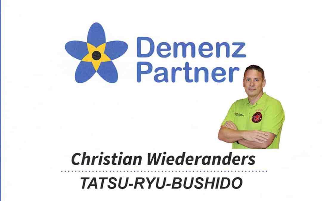 Das Tatsu-Ryu-Bushido ist seit 09/2021 Demenz Partner
